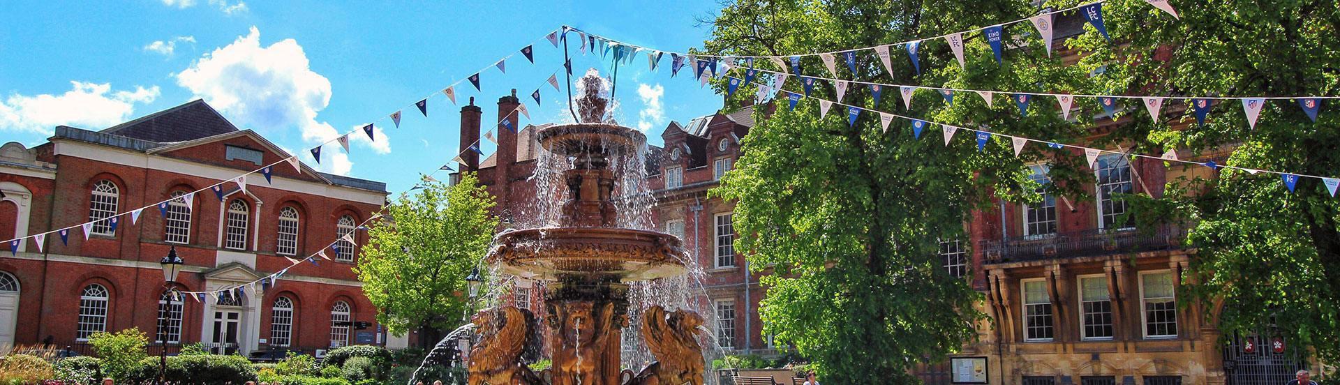 Rich & Carr Fountain